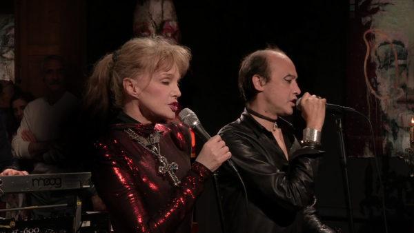 Arielle Dombasle & Nicolas Ker dans Mezzo Voce