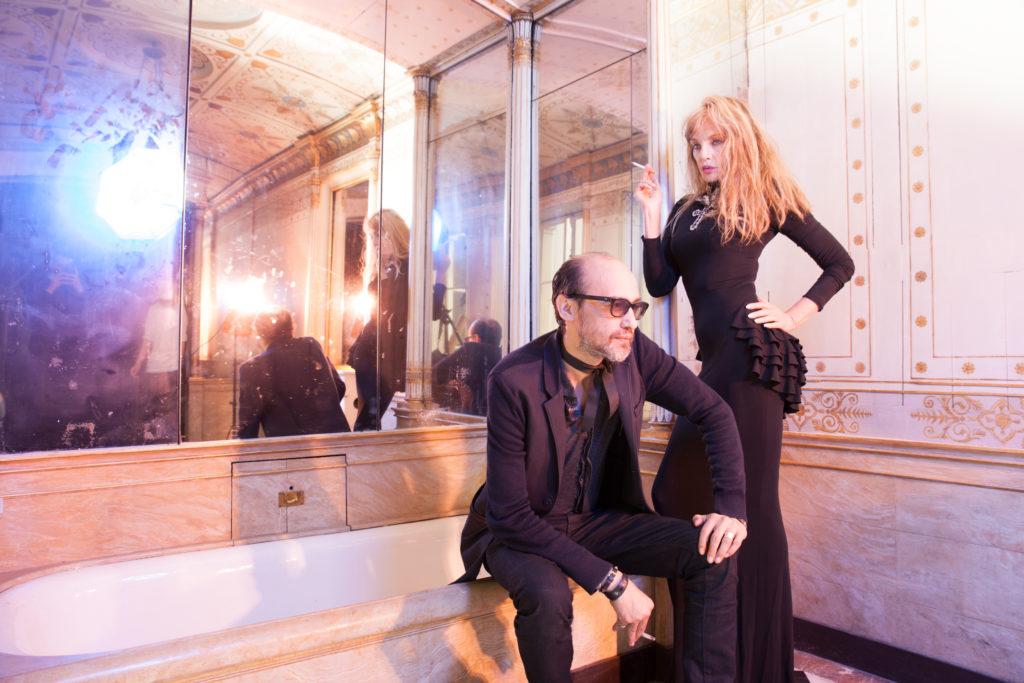 Arielle Dombasle & Nicolas Ker par Charlélie Marangé