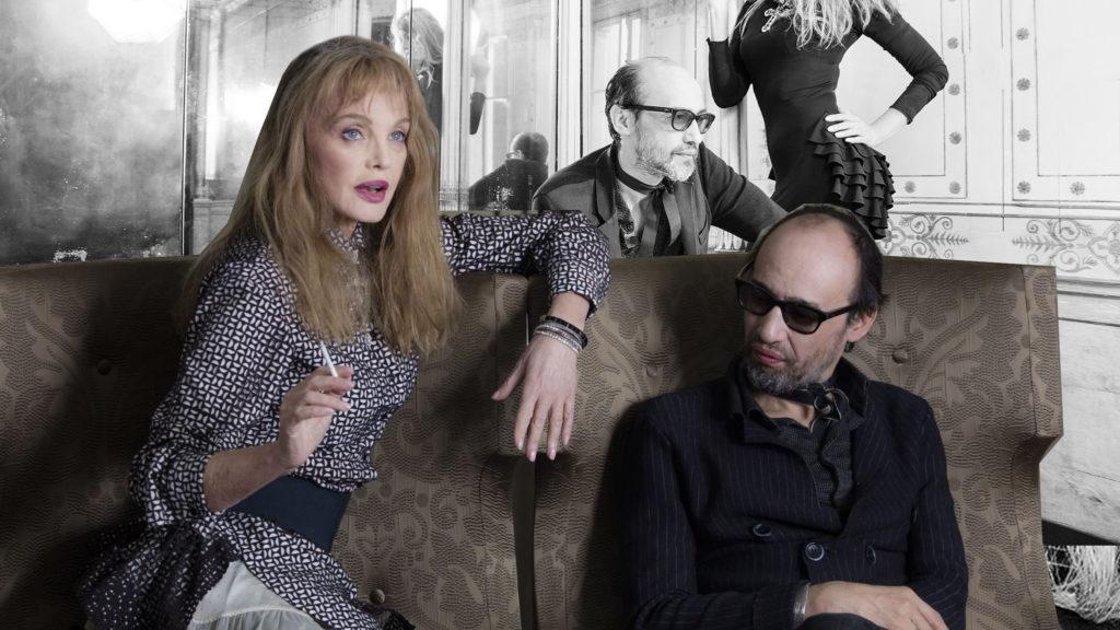 Arielle Dombasle et Nicolas Ker par Dahmane pour Closer