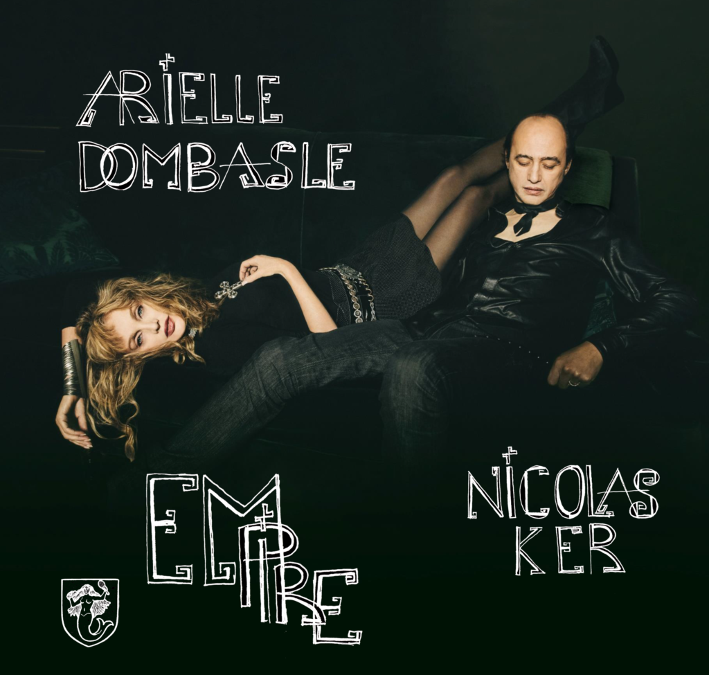 Pochette de l'album Empire d'Arielle Dombasle et Nicolas Ker